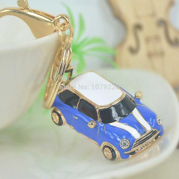 Caminhão Chave Do Carro Fivela Chaveiro Moda Jewelley Para As Mulheres Bonito Rhinestone Cristal Charme Pingente de Chave Saco de Presente de Natal Cadeia