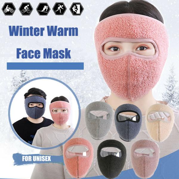 Winter Warm Fleece Earmuffs Riding Ski Snowboard Half Face Mask for Men Women CA Winter Warm Fleece Earmuffs Riding Ski Snowboard Half Face Mask for Men Women CA