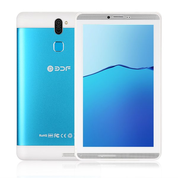 tactile android 7 Inch Screen Android 6.0 Phone Call Sim Card Tablet Pc Quad Core 16GB Flash built inside Dual Sim Card 8 9 10