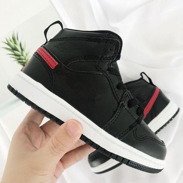 FOURFOUROUR Firmado High OG 1s Zapatillas de baloncesto para niños Chicago 1 Infant Boy Girl Sneaker Toddlers New Born Baby Trainers Calzado para niños