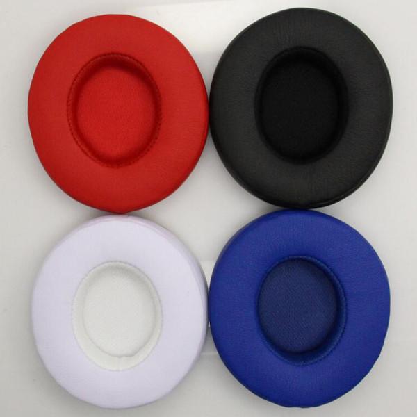 Reemplazo de almohadillas Solotech AAA + de cuero de proteína de alta calidad Cojines Copas Cubierta de oreja para Solo2 para auriculares inalámbricos solo3