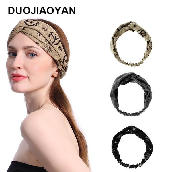 Korean Fashion 2020.2019 2020 Fashion Korean Fashion Fabric Wide Headband Women Knot Hair Accessories Twists Hairband Girls Wide Hair Hoop From Enshao8 1 77