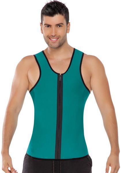 Тело горячие Shaper топы для человека неопрена пот пояс для похудения живота жилет тонкий Shaperwear ультра плюс Размер живота сауна одежда