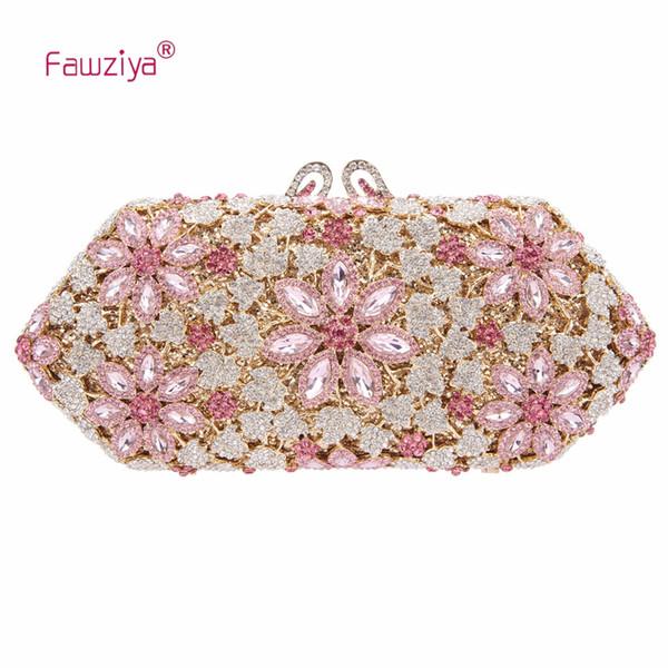 Fawziya Cherry Blossoms Crystal Кошельки и сумки для женщин Формальные