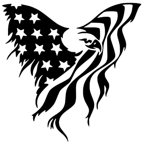 Flag Butterfly For Auto Car Bumper Window Vinyl Decal Sticker Decals Decor Handsome And Cool Stickers