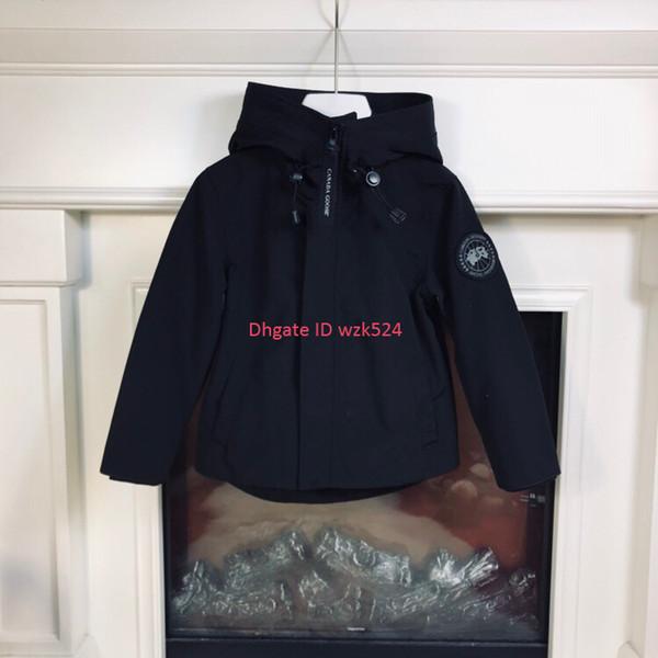 Chaqueta para niños ropa de diseño para niños otoño e invierno abrigo con capucha para niños y niñas tela antiestática impermeable material de algodón poliéster