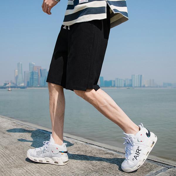 Модные Мужские Дизайнерские Шорты с Аппликацией Pattern Лето Повседневная Бренд Мужские Шорты Колен Брюки для Мужчин Оптовая
