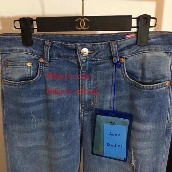 jeans estivi New lavato e indossato pantaloni moda irregolare jeans delle donne pantaloni larghi pantaloncini estate di alta qualità vestiti delle donne ABC-11