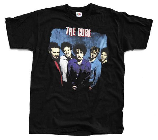 Camiseta con foto de THE CURE Band (negro) S-5XL