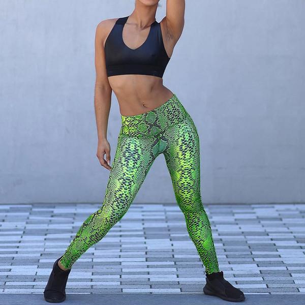 122c5f61ac Women Ladies Fashion Serpentine High Waist Long Leggings Running Yoga Pants  Serpentine high waist yoga pants for ladies A3056