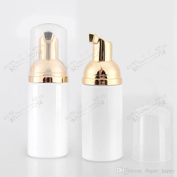 Bottiglia di plastica della bolla della bolla di bolla bianca vuota DIY all'ingrosso 50ML X 30, flaconi per imballaggio cosmetico per pompa schiumogena 50cc container-01