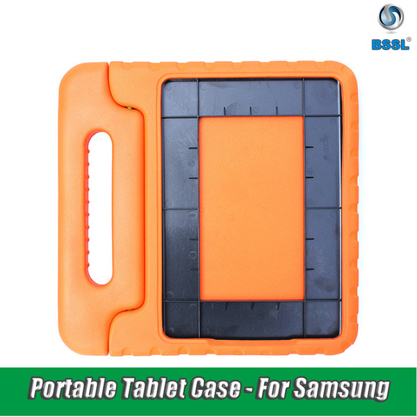 For Samsung Galaxy Tab Case Kids Shockproof EVA Foam full Cover for Advanced2 T583 Portable Children hand-held Stand Holder Tablet Case