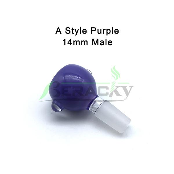 A- 14mm Male Purple