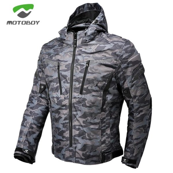 1pcs motoboy men moto motorbike body armor camouflage waterproof warm 600d oxford reflective light ce protect motorcycle jacket thumbnail