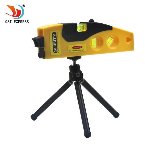 Niveaumessung Cross Line Levels Messwerkzeug Mit dem Tripod Laser Tool Wasserwaage