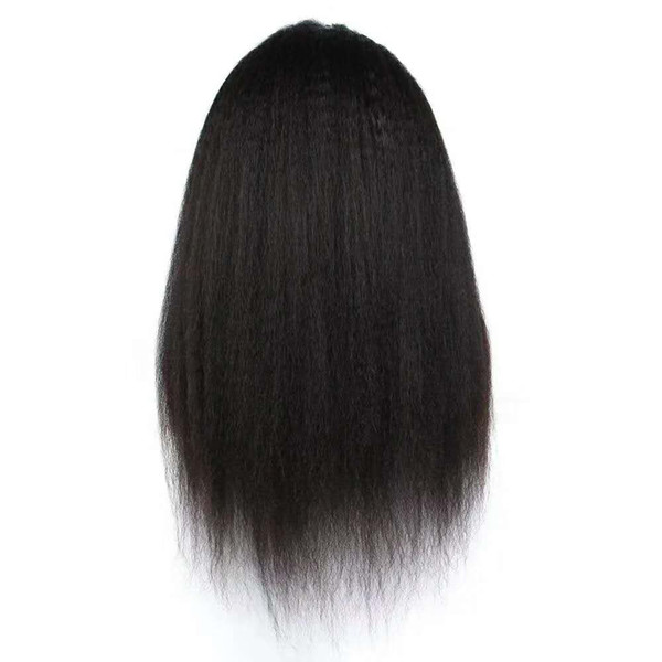 Top Quality Full Lace Wig Burmese Virgin Remy Human Hair Lace Front Wigs Bleached Knots Authentic Looking Ladies Women Inexpensive 8- 24inch