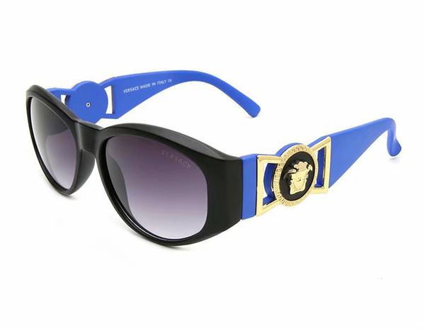 Diseñador de la marca 9918 gafas de sol para hombre mujer marco grande Diseñador de la marca Gafas de sol de alta calidad a bajo precio Hombres Gafas Mujer gafas