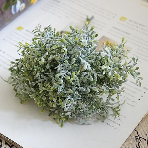 1 bouquet diy respiração do bebê artificial flor gypsophila falso planta de silicone para decorações de casamento festa em casa
