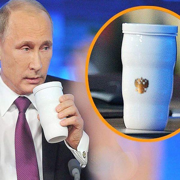 2019 Nova Chegada Putin Mesmo Copo Térmico G20 Putin Mesma Caneca Copos de Aço Inoxidável Copo De Leite De Café para o Partido de Escritório Em Casa