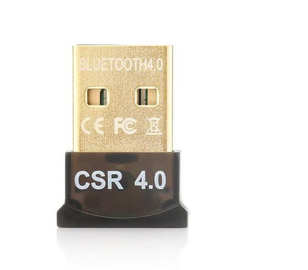 Adaptador Bluetooth USB CSR 4.0 Dongle Receptor de transferencia inalámbrica para PC portátil Ordenador envío gratis