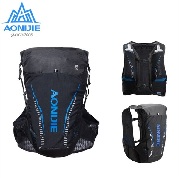a992b5796a AONIJIE 18L Outdoor Lightweight Hydration Backpack Rucksack Bag Vest for 2L  Water Bladder Hiking Camping Running