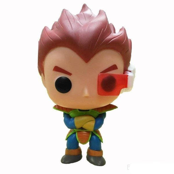 Promotion gift Funko Pop Dragon Ball Z Goku Super Saiyan God Planet Arlia Vegeta Vinyl Action Figure With Box #184 Gift