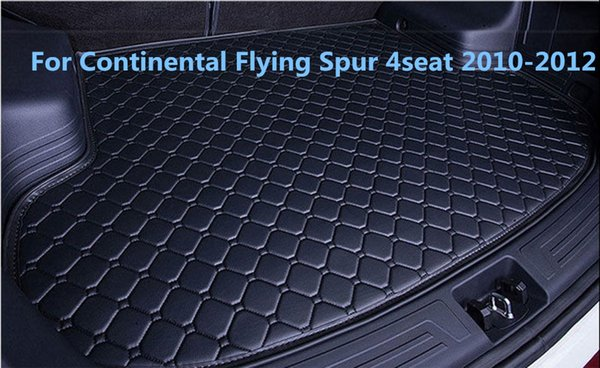 Waterproof Car Rear Cargo Boot Trunk Cargo liner Mat Pad For Continental Flying Spur 4seat 2010-2012