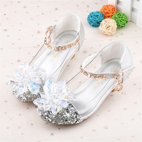 Großhandel 2019 Frühling Und Herbst Neue Kinder Kristall Schuhe Aschenputtel Prinzessin Schuhe Mädchen Schuhe 26 37 Y190525 Von Gou07, $42.66 Auf