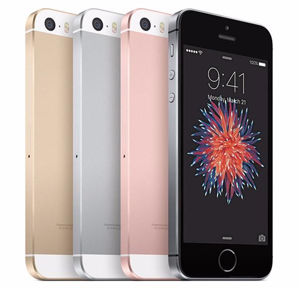 Unlocked Apple iPhone SE SIM Free Mobile Phone 4G LTE Smartphones 2GB RAM 32GB/64GB ROM 4.0inch 12.0MP iOS Touch ID Fingerprint