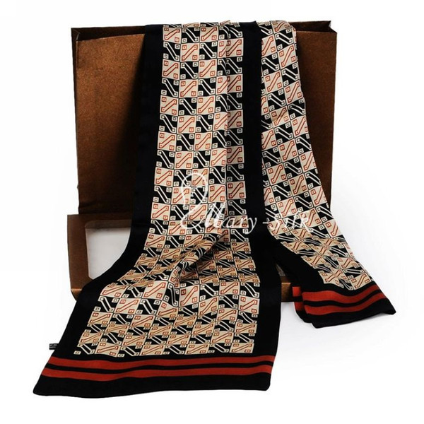 Mens 100% Silk Long Scarf Cravat Scarives Layer --- For Spring Autumn Winter
