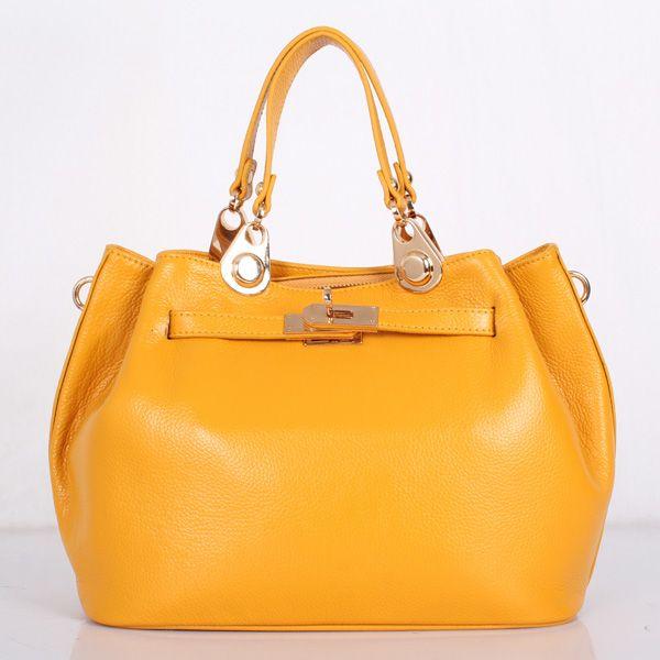 Accept private label Custom logo wholesale drop shipping hand-woven sheepskin girls yellow bag women shoulder messenger bags
