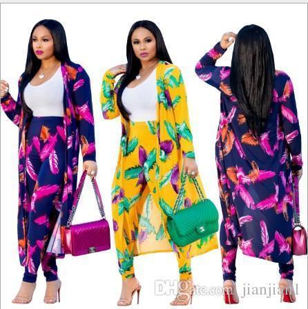 CM251 fashion explosion cloak + leggings Europe and the United States popular digital printing fashion casual suit