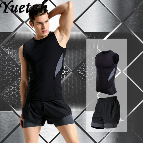 2019 New Men Quick Try Sport Running Wear Outdoor Sportswear Gym Fitness Suit Russian USA Tracksuit Climbing Hiking Wear Suit From Longanguo, $29.96 |