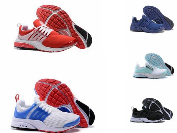 2019 ÜST PRESTO 5 s BR QS Siyah Beyaz Nefes Sarı Kırmızı Erkek Ayakkabı Sneakers Kadın Koşu Ayakkabıları Sıcak Erkekler Spor Ayakkabı Yürüyüş tasarımcı ayakkabı