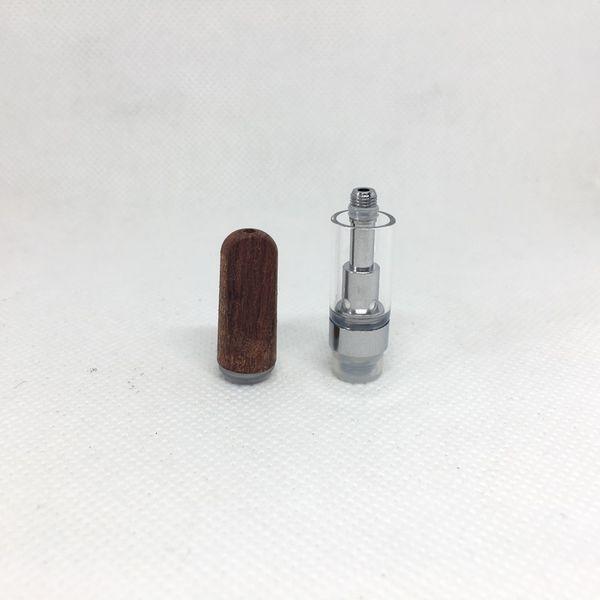Punta di legno 0,5 ml (con confezione in schiuma)