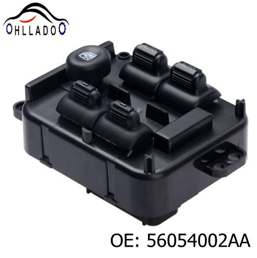 top popular HLLADO New Power Window Switch Center Console 56054002AA Front Left Master Window Control Switch For J eep Liberty 2005-2007 2021