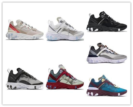 Nike Max En kaliteli Yeni Ürünler Eleman React 87 Koşu ayakkabıları sneaker spor ayakkabı kutusu ile ücretsiz kargo