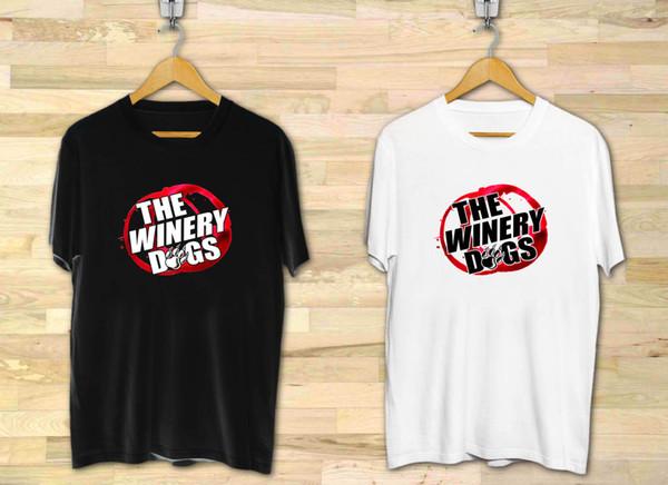 THE WINERY DOGS Rock Band Logo Hombre Blanco Negro XS a 3XL Divertido envío gratis Unisex Casual top