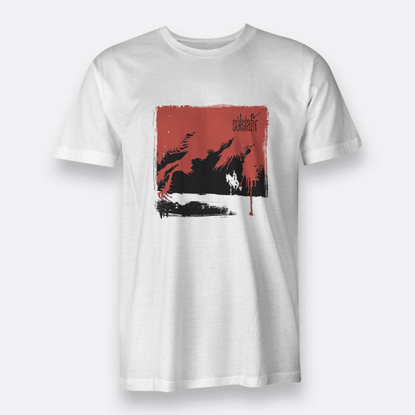 Svartir Сандар Solstafir футболка мужская размер S-XXXL Белый тройники с коротким рукавом плюс размер футболки цвет Джерси печати футболка