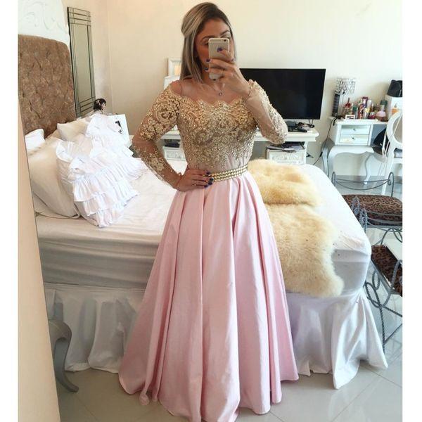 Sexy Plus Size Prom Cocktailkleider 2020 Arabisch Muslim Abend-formaler Kleid-Abschlussball-Kleid Lange