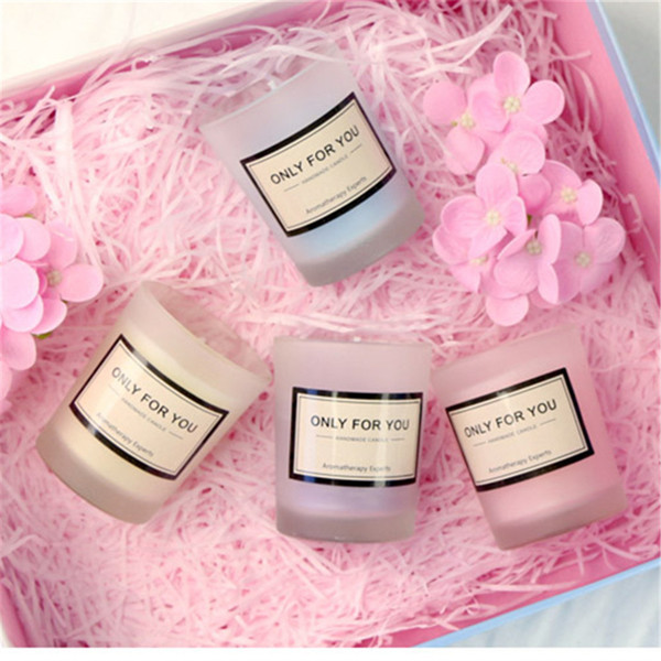 Wedding Scented Wax Candle Favors Tea Light Candle Holder Party favor Valentine day gift wedding supplies Reception Giveaway Table Decors