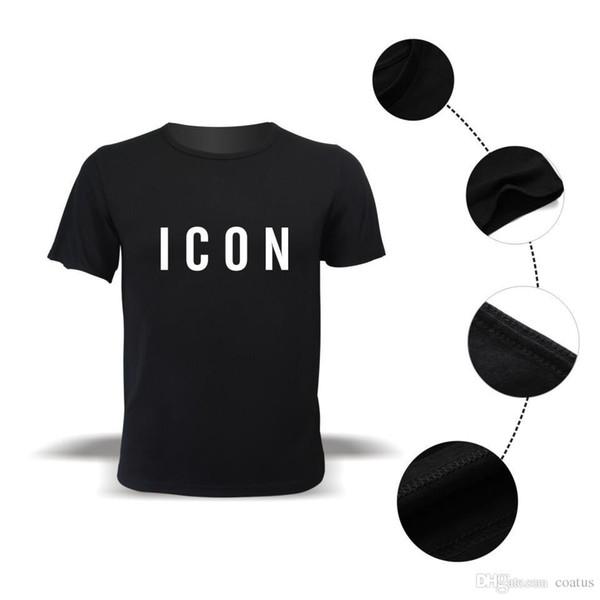 Venta caliente divertida marca de moda icono camiseta hombres estampado casual con icono Hip Hop algodón manga corta camiseta S-3xl