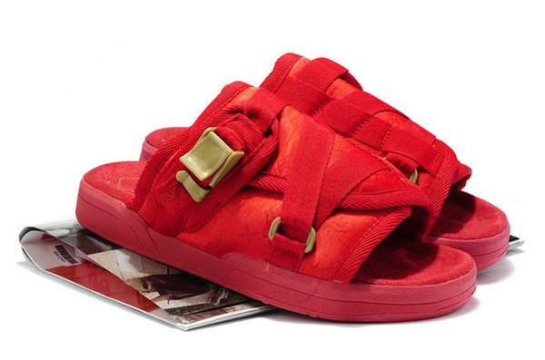 Hot Sale Visvim Slippers 2019 Summer Men Women all colorways Beach Sandals Lovers Casual Slippers Outdoor Hip-hop Sandals EUR36-44