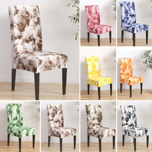 Graffiti Print Chair Covers Removable Thin Stretch Chair Cover Slipcover Decor