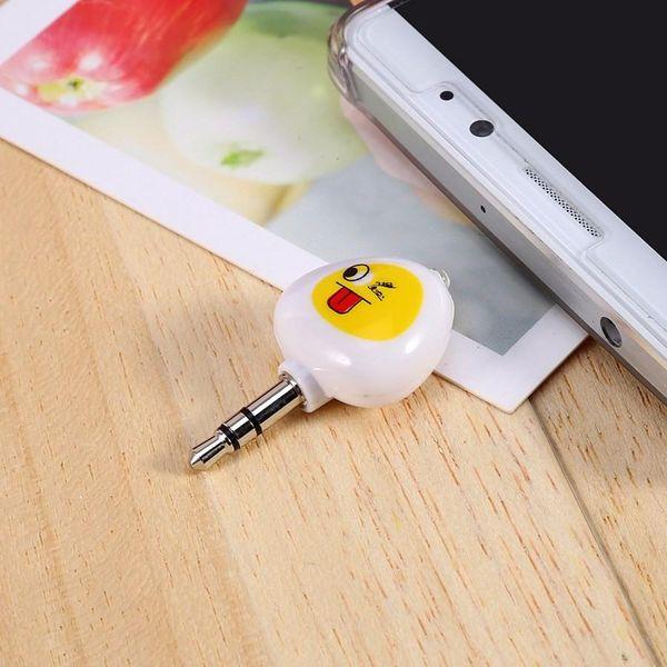 Mini Cep Telefonu Için 3.5mm Akıllı Kızılötesi IR Uzaktan Kumanda Klima TV DVD Kamera Kablosuz Uzaktan Kumanda 30