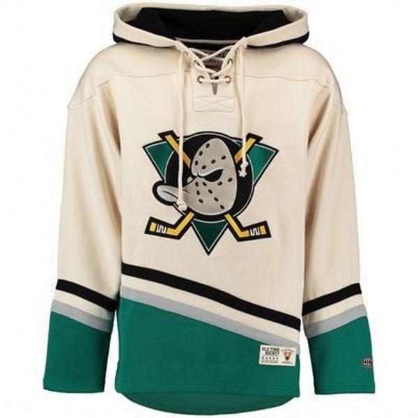 Sweats à capuche Anaheim Ducks 9 Paul Kariya 69 ROI 35 Jean-Sébastien Giguère maillot de hockey cousu Mighty Ducks personnalisé N'importe quel nom, tout le nombre S-4XL