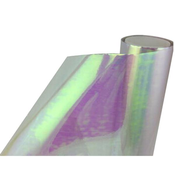 Lampe voiture légère membrane autocollant Phare Feu arrière Tint Film vinyle Brake Light Car Accessoires Styling bricolage Chic 30 * 60 cm