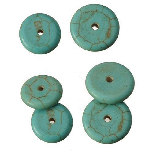 distanziatori kallaite fai da te ornamenti perline accessorio ornamenti tondi fornitori di gioielli piatti in metallo moda 12mm 14mm nave libera 100 pz