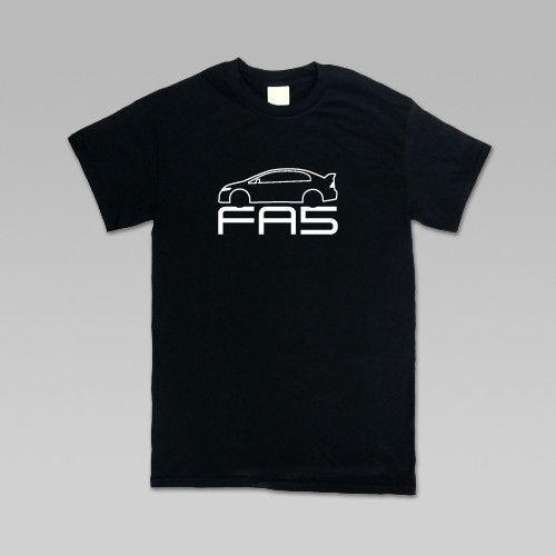FA5 06-11 Wholesale Civic SI 4Dr Inspired T-Shirt, Mens Classic and Slim Fit, S-4XL Short Sleeve Cheap Sale Cotton T Shirt Cool O-Neck Tops