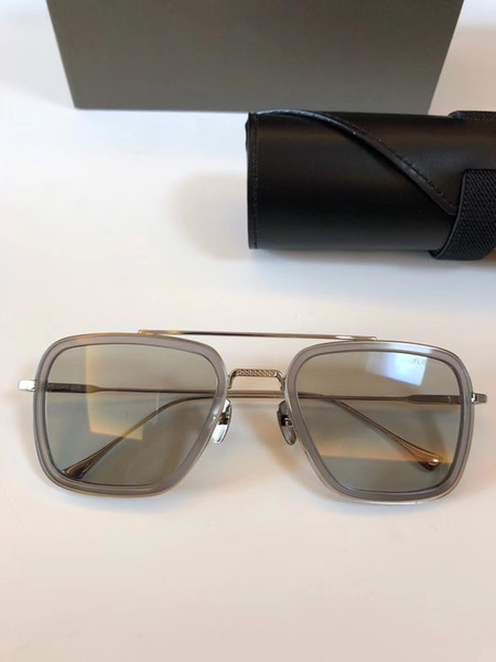 silver clear frame